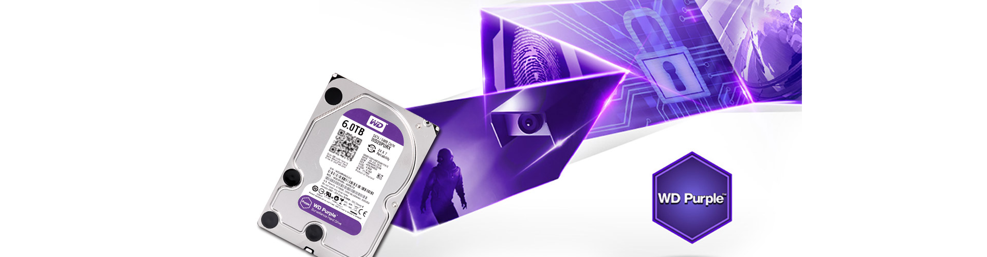 Customized WD Purple, reliable performance