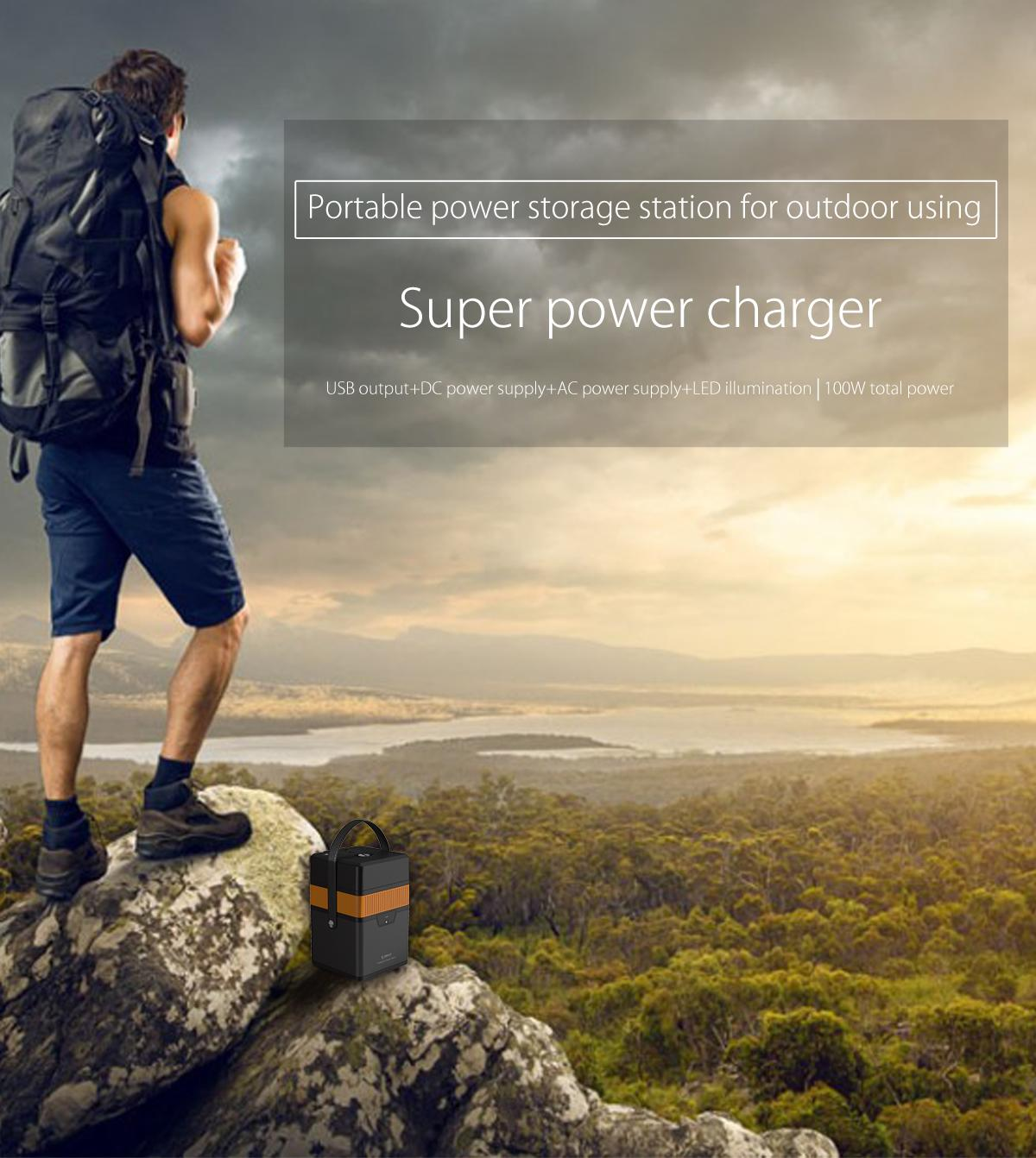 ORICO 50000mAh Outdoor UPS Charging Station