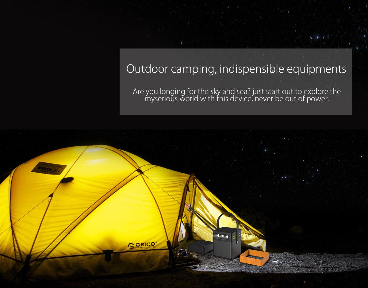 outdoor camping,never be out of power