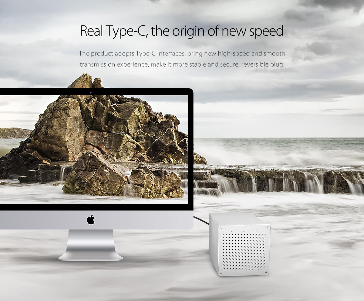 real type-C port, bring you a new plugging experience
